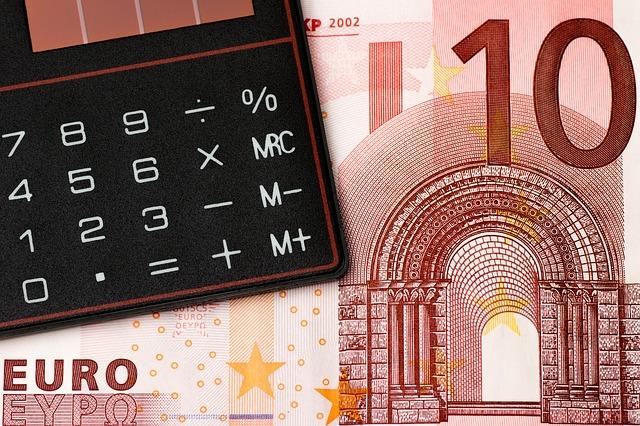 Kalkulator na banknocie