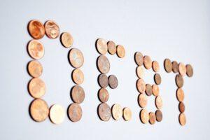 Napis z monet